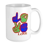 Square F.S. LOVE Large Mug