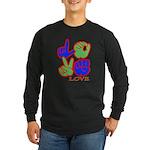 Square F.S. LOVE Long Sleeve Dark T-Shirt