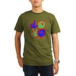 Square F.S. LOVE Organic Men's T-Shirt (dark)