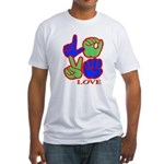 Square F.S. LOVE Fitted T-Shirt