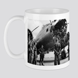 Battle Damaged B-17 Mug