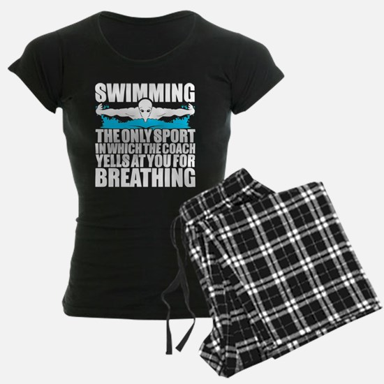 Swimming Sport T Shirt Pajamas