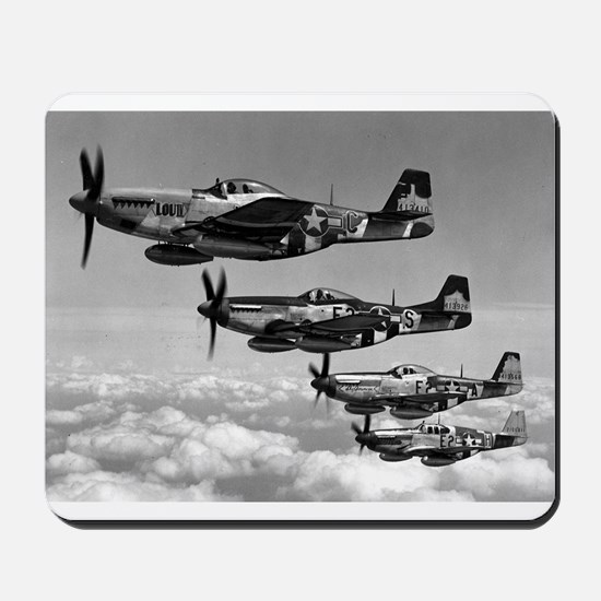 P-51 Formation Mousepad