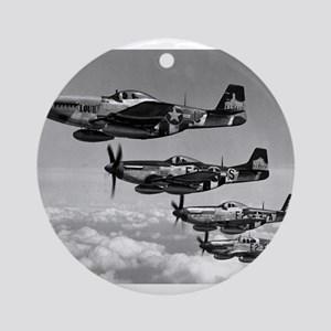P-51 Formation Ornament (Round)
