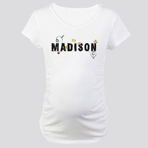 Madison Floral Maternity T-Shirt