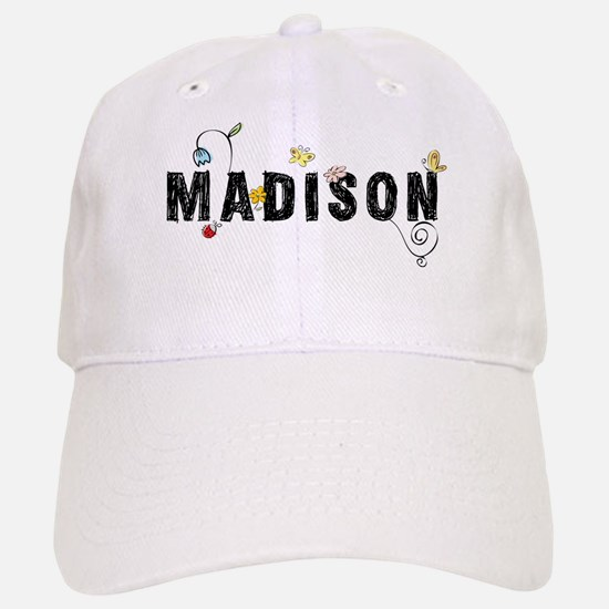 Madison Floral Baseball Baseball Cap