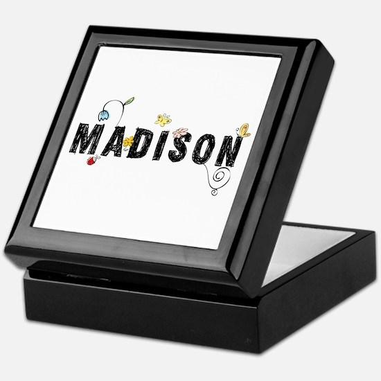 Madison Floral Keepsake Box