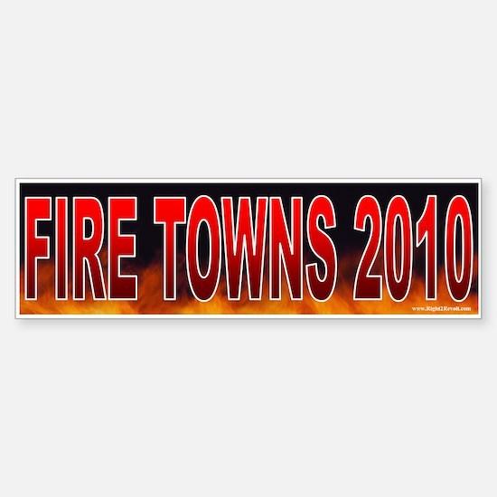 Fire Edolphus Towns! (sticker)