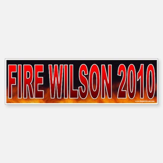 Fire Charles Wilson! (sticker)