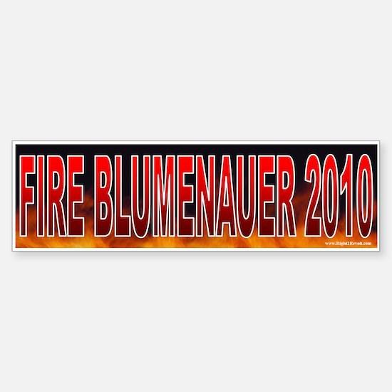 Fire Earl Blumenauer! (sticker)