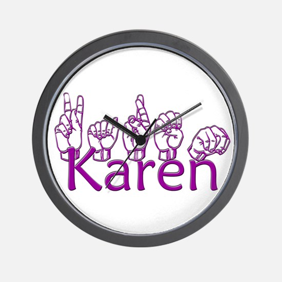 Karen-ppl Wall Clock