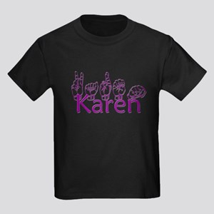 Karen-ppl Kids Dark T-Shirt