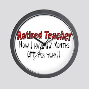 More Retirement Wall Clock
