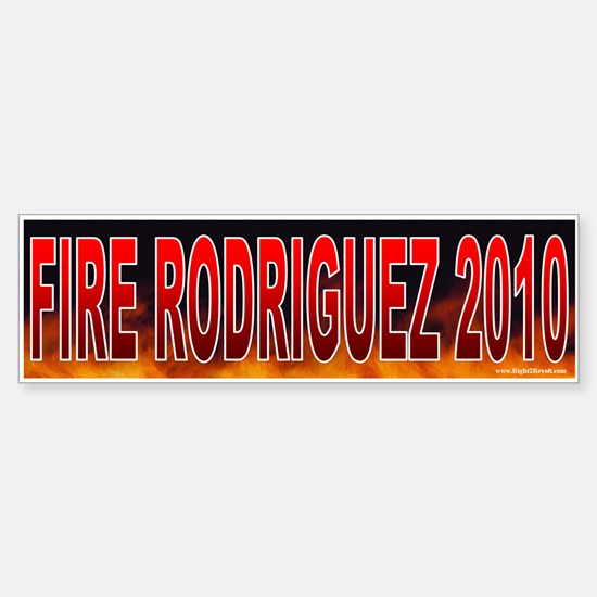 Fire Ciro Rodriguez! (sticker)