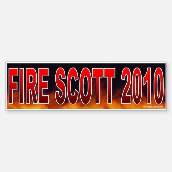 Fire Robert Scott! (sticker)