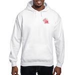Cane Corso Pink Hooded Sweatshirt