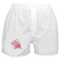 Cane Corso Pink Boxer Shorts