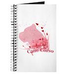 Cane Corso Pink Journal