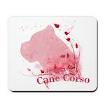 Cane Corso Pink Mousepad