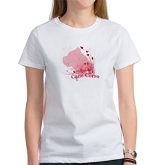 Cane Corso Pink Women's T-Shirt