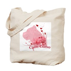 Cane Corso Pink Tote Bag