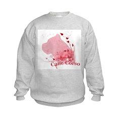 Cane Corso Pink Sweatshirt