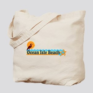Ocean Isle Beach NC - Beach Design Tote Bag