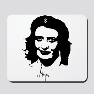 Ayn, revolutionary thinker. Mousepad