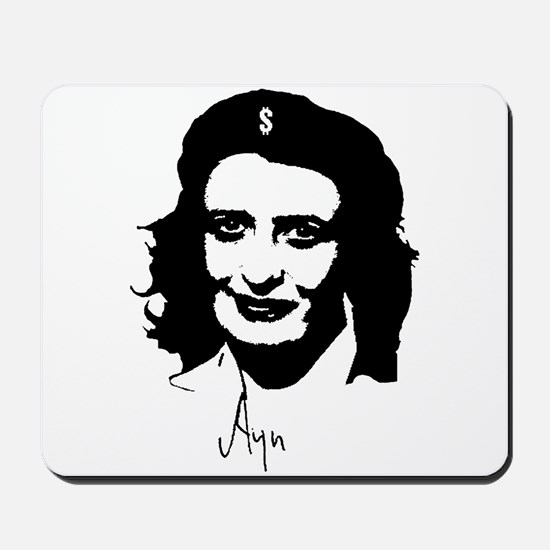 Ayn, revolutionary thinker. Mousepad