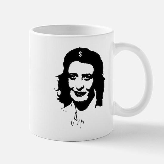 Ayn, revolutionary thinker. Mug