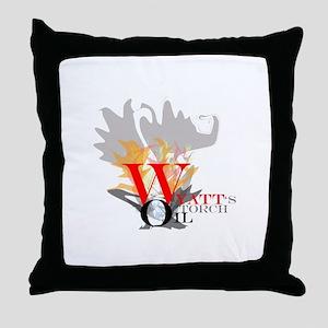 Wyatt's Torch Throw Pillow