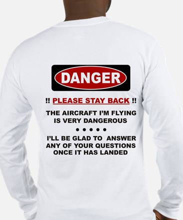 RC Helicopter Safety Long Sleeve T-Shirt