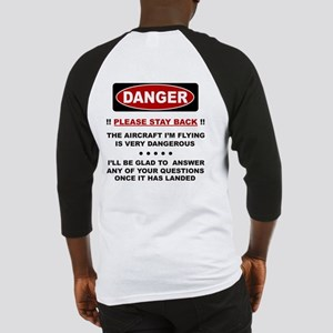 RC Helicopter Safety Baseball Jersey