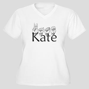 Kate Women's Plus Size V-Neck T-Shirt