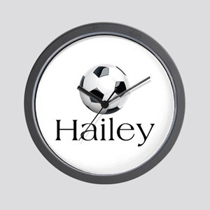 Hailey Soccer Wall Clock