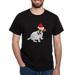 Santa Jack Russell Dark T-Shirt