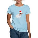 Santa Jack Russell Women's Light T-Shirt