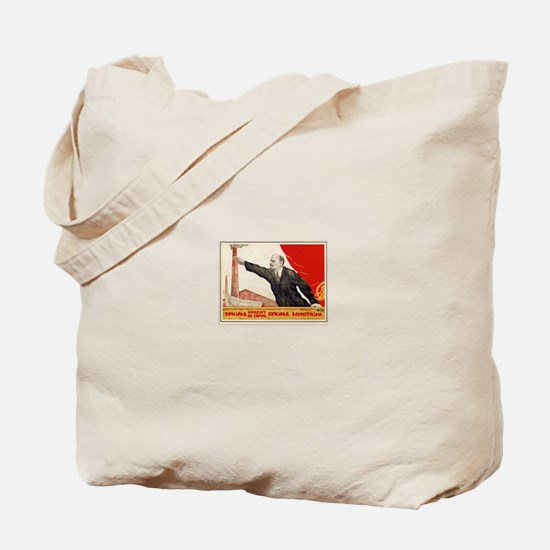 """""""A spectre is haunting Europe"""" Tote Bag"""