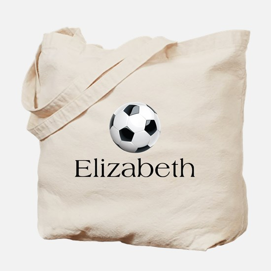 Elizabeth Soccer Tote Bag