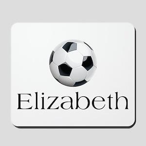 Elizabeth Soccer Mousepad