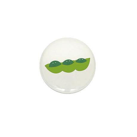 Happy peas Mini Button (10 pack)