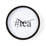 #tea Wall Clock