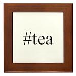 #tea Framed Tile