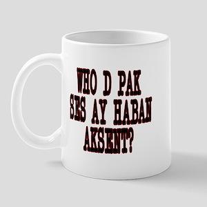 Who D Pak Mug