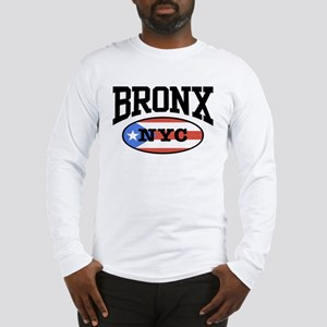 Bronx Puerto Rican Long Sleeve T-Shirt