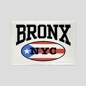 Bronx Puerto Rican Rectangle Magnet