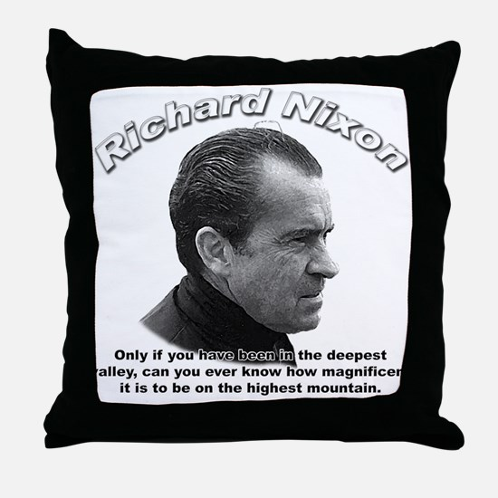 Richard Nixon 01 Throw Pillow