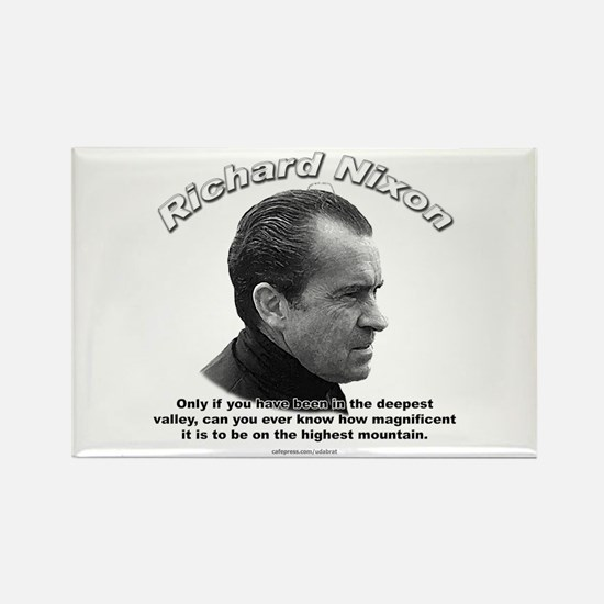 Richard Nixon 01 Rectangle Magnet