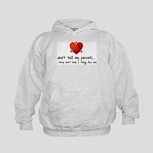 Don't tell my parents... Kids Hoodie