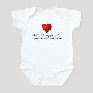 Don't tell my parents... Infant Bodysuit